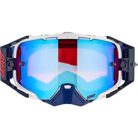 Leatt Velocity 6.5 Iriz Anti Fog Mirror Goggles, azul